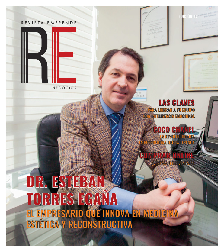 Entrevista de Revista Emprende al Doctor Esteban Torres, Wam Center